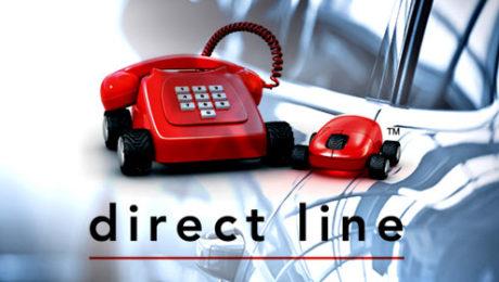 Direct Line car insurance logo