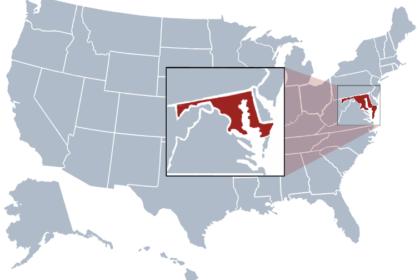 Maryland state USA