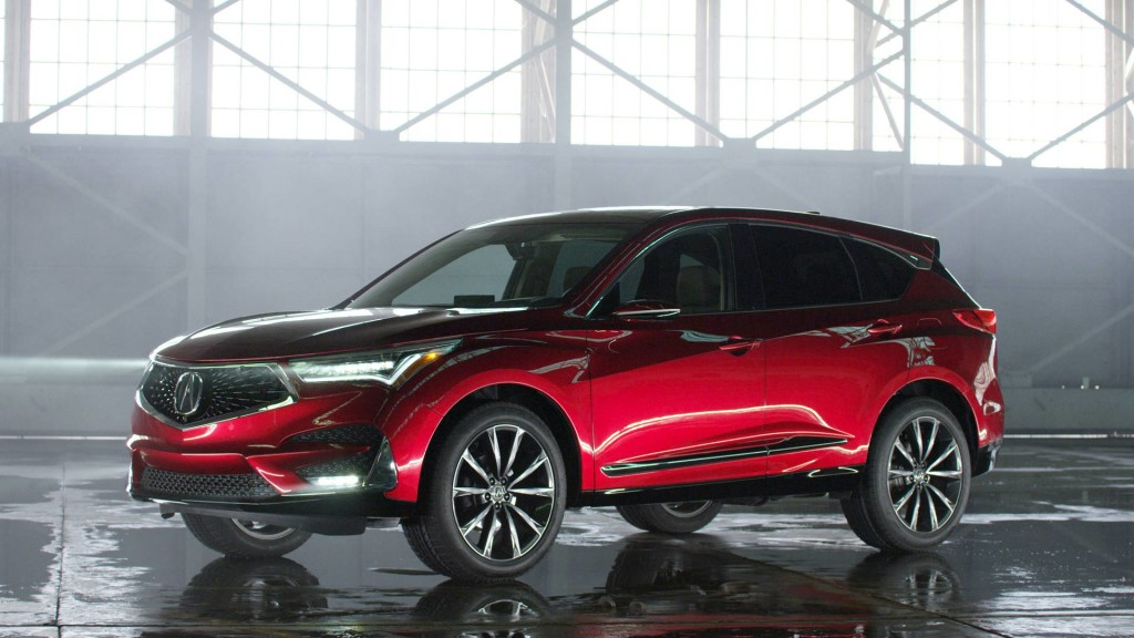 2018 Acura RDX Prototype