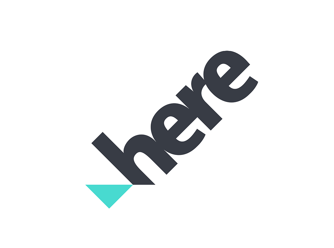 mapping company Here logo