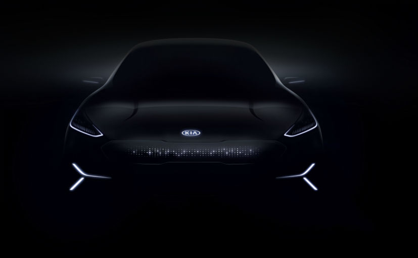 KIA electric concept car CES 2018 images