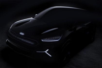 KIA electric concept car CES 2018 images