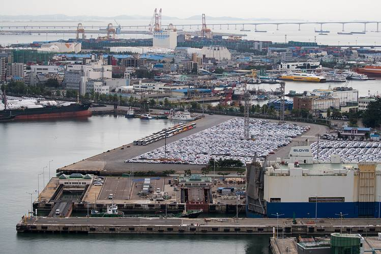 Gunsan plant, General Motors, South Korea