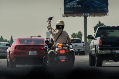 Speeding tickets in California