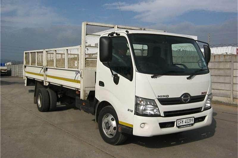 Toyota Hino truck