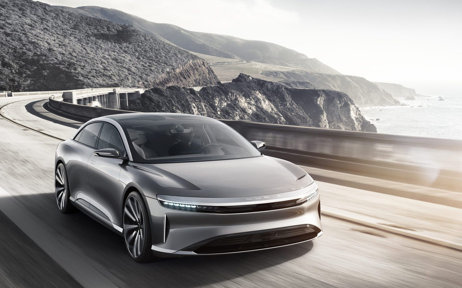Lucid Motors car