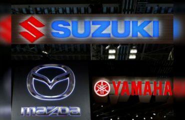 Mazda, Suzuki, Yamaha