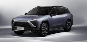 NIO es8 electric car