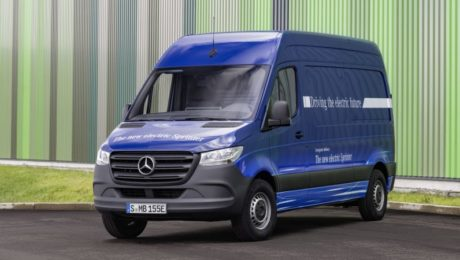 Mercedes Benz eSprinter van