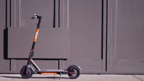 electric scooter startup spin