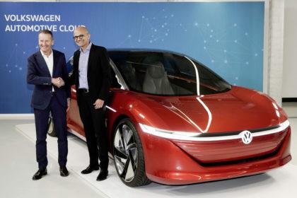 Volkswagen and Microsoft Automotive Cloud