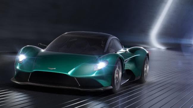 Aston Martin Vanquish Vision concept at Geneva Motor Show
