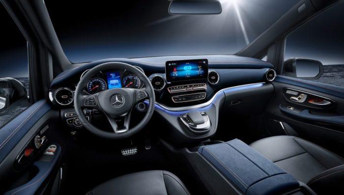 Mercedes-Benz EQV Electric Minivan Concept at 2019 Geneva Motor Show