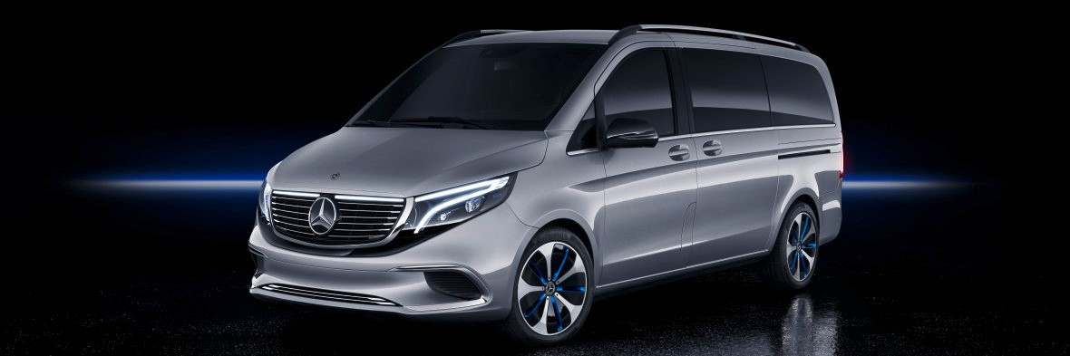 Mercedes-Benz EQV Electric Minivan Concept at 2019 Geneva Motor Show