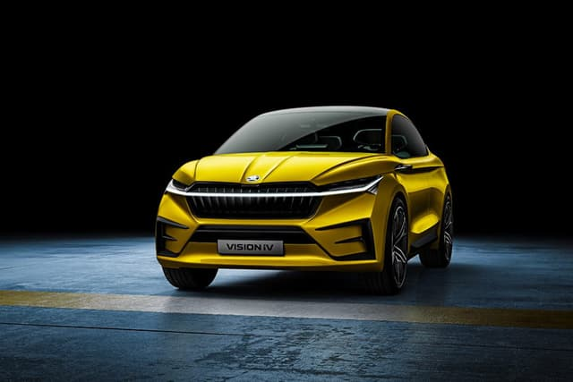 Skoda Vision iV concept at 2019 Geneva Motor Show