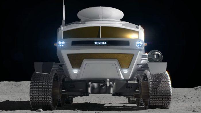 JAXA and Toyota 6-wheeled vehicle