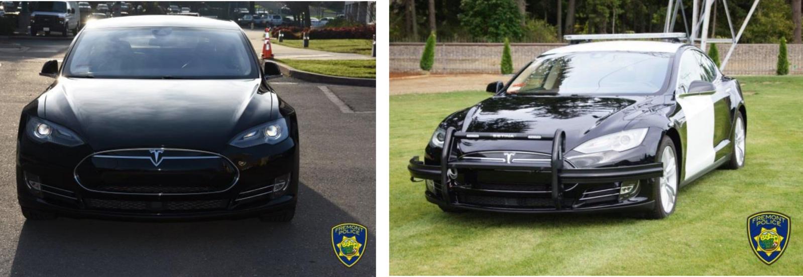 Tesla Model S Fremont Police Department