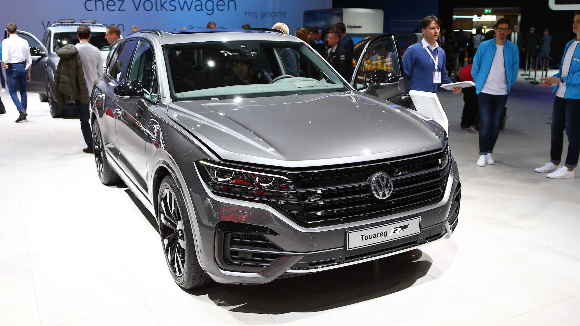 Volkswagen Touareg with V8 Diesel Engine