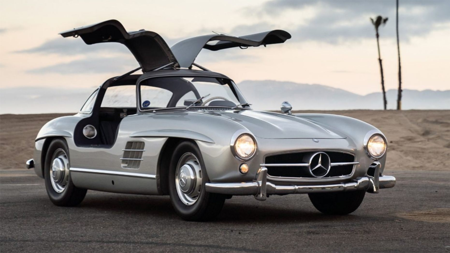 Adam Levine 1955 Mercedes-Benz 300 SL Gullwing