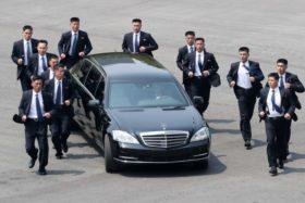 Kim Jong Un limousine