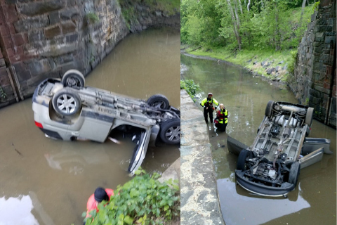Chesapeake and Ohio Canal accident