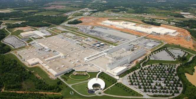 BMW Spartanburg factory, Greer, South Carolina, United States