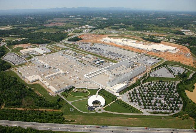 BMW Spartanburg factory, Greer, South Carolina, United States