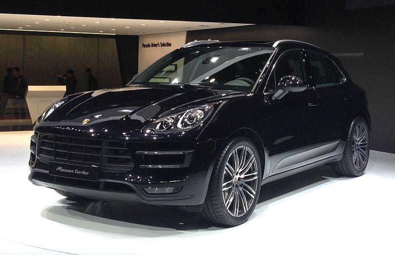 Porsche Macan Tokyo Motor Show