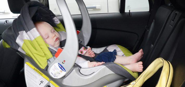leaving child in car