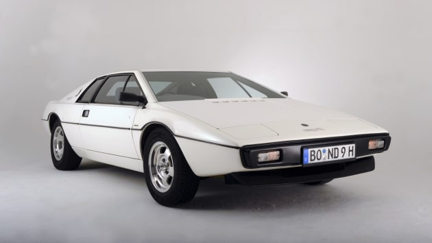 1976 Lotus Esprit sports car