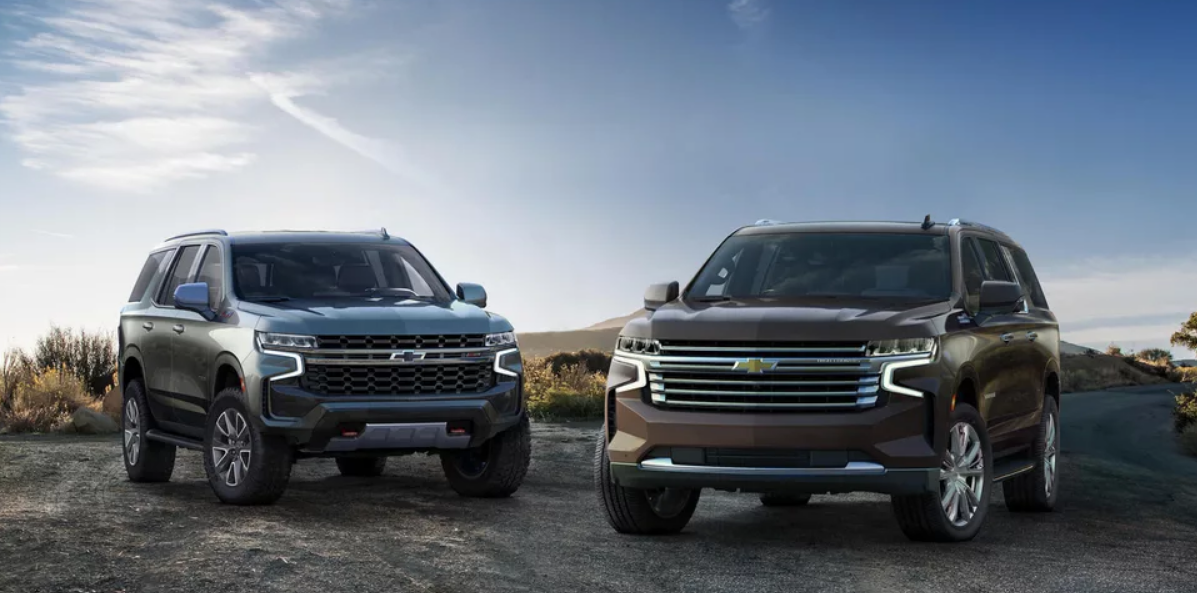 2021 Chevy Tahoe and Suburban