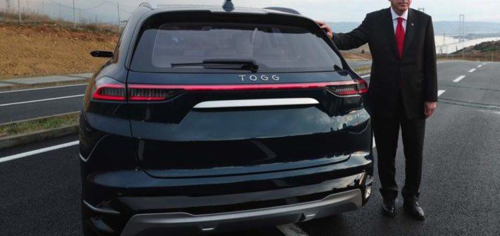 Erdogan unveils TOGG car in Turkey