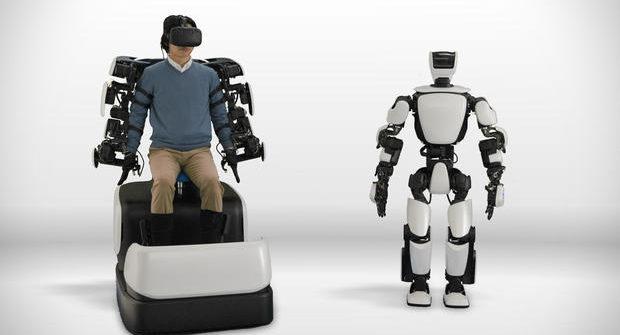 Toyota Motor Corp's T-HR3 robot