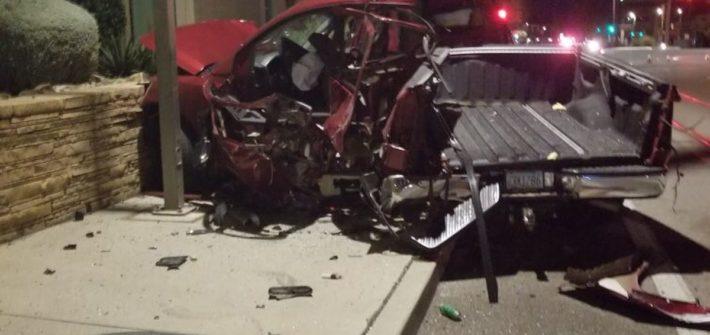 carjacker crashed stolen car