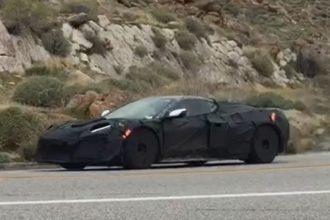 2021 Chevrolet Corvette Z06 spotted