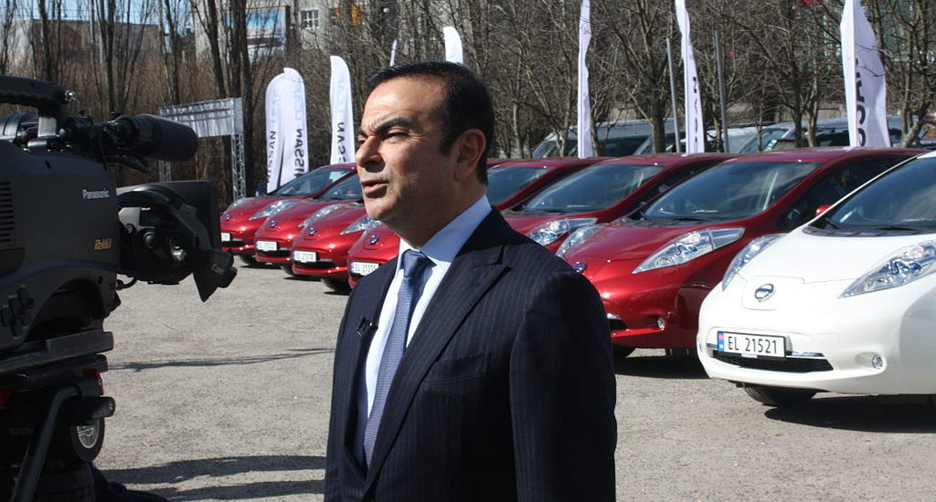 Carlos Ghosn in Norway