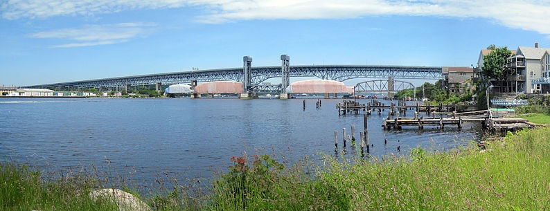 Gold Star memorial bridge, Connecticut