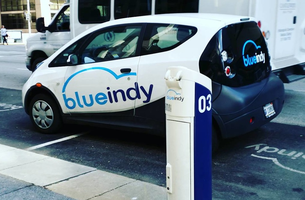 Blue Indy