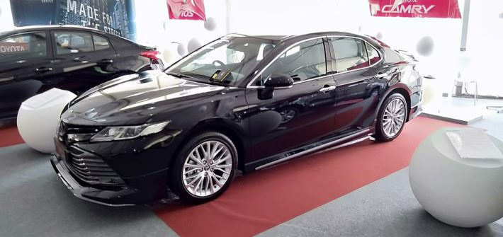 2020 Toyota Camry 2.5 (Front view)