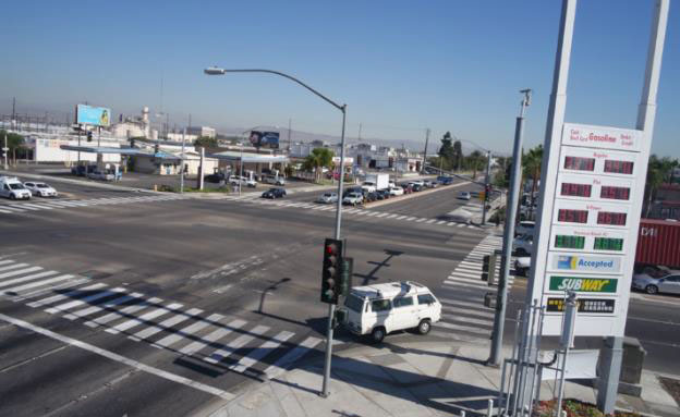 Anaheim intersection