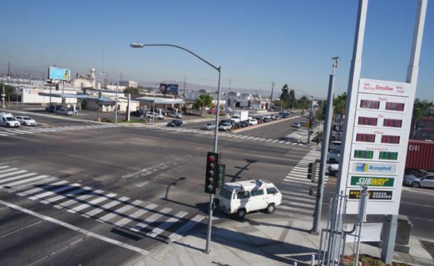 Anaheim intersection