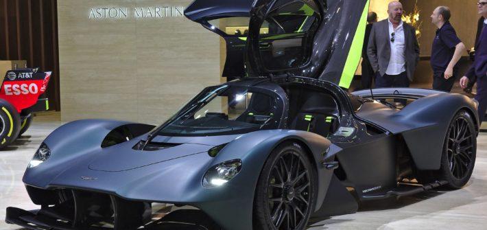 Aston Martin Valkyrie at Geneva Motor Show 2019