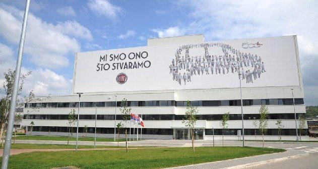 Fiat Chrysler plant in Kragujevac, Serbia