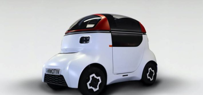 MOTIV autonomous vehicle