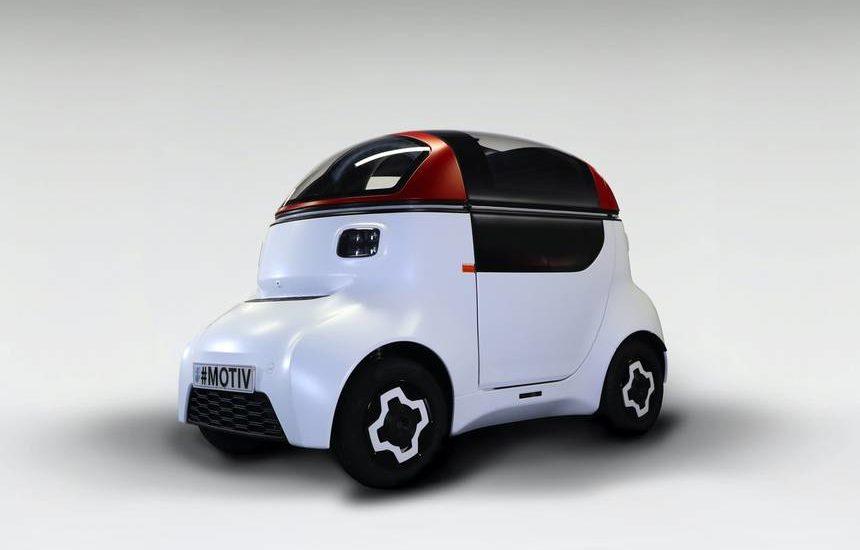 MOTIV autonomous vehicle