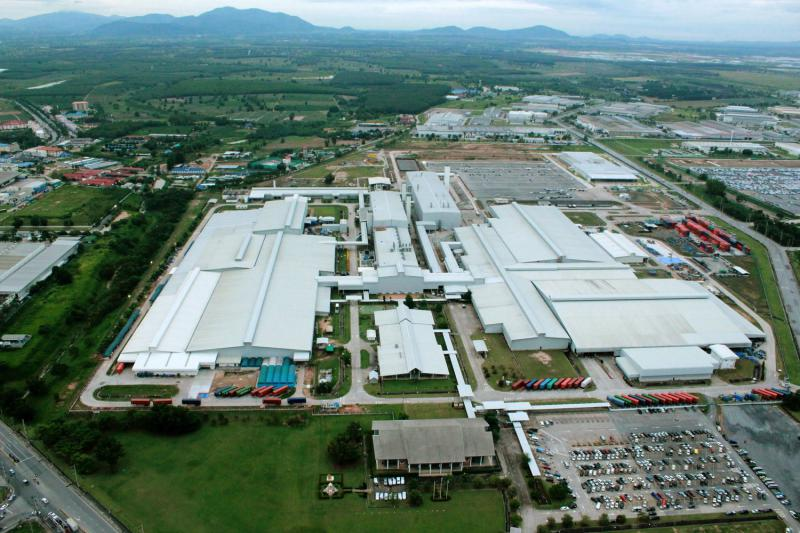 auto plant in Rayong, Thailand