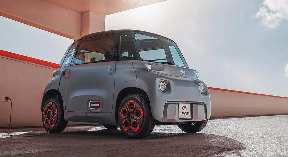 mini electric Citroen car, AMI