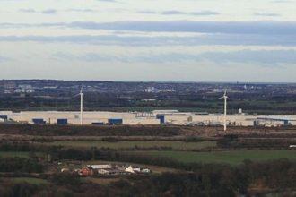 Nissan Motor factory in Sunderland, UK