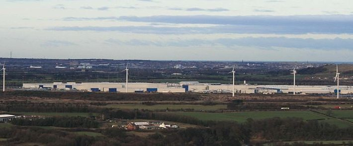 Nissan Motor factory in Sunderland, UK