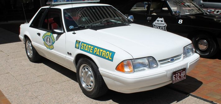 Missouri State Highway Patrol car